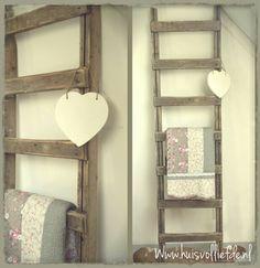 Decoratie ladder karwei ge mpregneerd hout beitsen for Decoratie ladder action