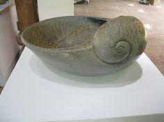 Photo Gallery -  Earth Alchemy Ceramics nautilus shell curl bowl pottery ceramics clay