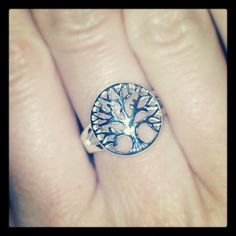 @brklyndesigns Tree Of Life Sterling Silver Ring.