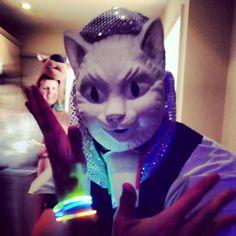 Animal masks-surreal Alice in wonderland party