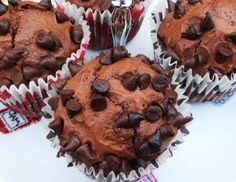 Muffins Thermomix | Magdalenas de Chocolate Thermomix