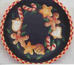 Christmas Cookies Bowl