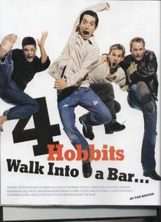 This picture. Dominic Monaghan. Billy Boyd. Sean Astin. Elijah Wood.
