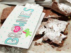 Brownies de chocolate con pistachos | Recetas | Utilisima.com