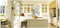modern farmhouse, breakfast nooks, cabinet, range hoods, door, farmhouse kitchens, light, island, white kitchens