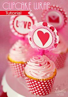 cupcake wrap tutorial