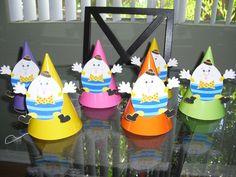 Humpty Dumpty Party Hats.