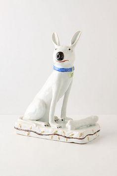 Blue Collared Dog, 2011 #anthropologie