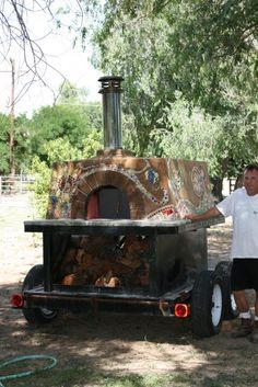 Cahoots Catering Co. - Mobile Wood-Fired Oven