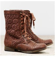 Love!!! American eagle boots