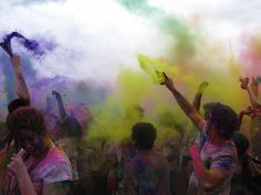 Festival of Colors in Spanish Fork, Utah.