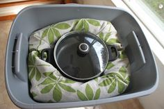 Wonder Oven with sewing directions (I think I just gave one of these away! -Patti)