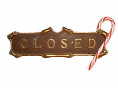 Shutting Down for the Holidays