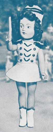 Vintage Majorette Doll