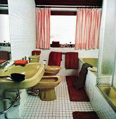 80 39 s 70 39 s bathroom on pinterest 1970s bathroom and for Avocado bathroom ideas