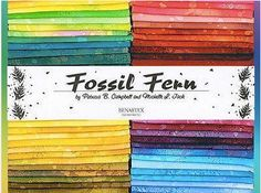 Fossil Fern is a stunning collection of colors inspired by nature with an array of versatile prints, making this fabric perfect for any project. Click the image to grab a fat quarter box with 100 fat quarters for 35% off and make sure your stash is ready to handle any project you throw at it!