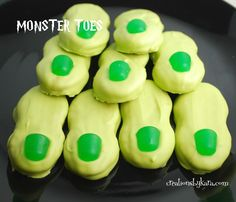 Halloween Recipe-- Monster Toes  #Halloween