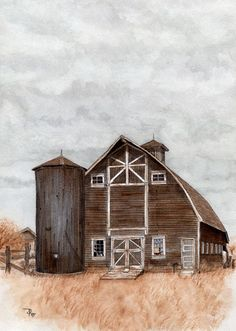 Beautiful Brown Barn