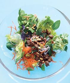 Thai Pork Salad With Chilies and Mint Recipe