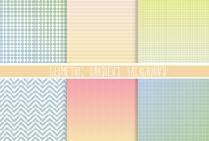 6 seamless geometric