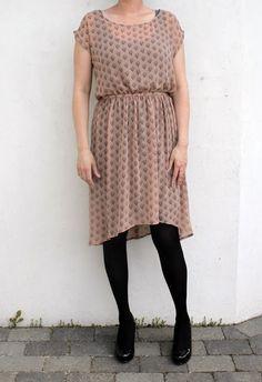 dress tutorials, low dress