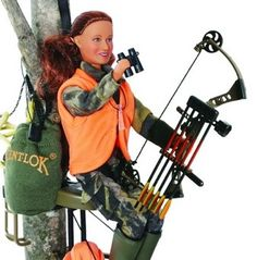 Bowhunting Barbie? yes then need too have one