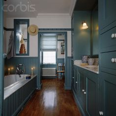 One of my all time favorite bathrooms ever!  Beautiful Shaker Style
