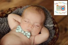 AWWWW! Really want to do this! And we totally have a little baby bowtie too.