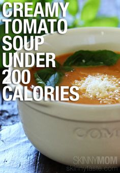 Easy slow cooker tomato soup recipe!