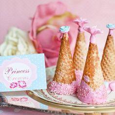 Princess (Ice Cream) Cone Hats!