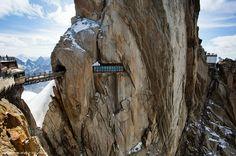 Alps - Aiguille du Midi - France