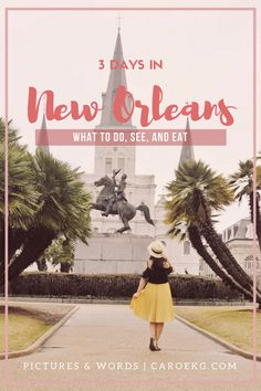 3 Days in New Orlean