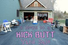 3 Steps to a KICK BUTT Yard Sale