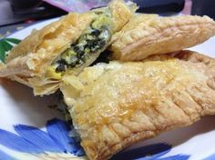 Spinach Pie in Puff Pastry (Spanakopita). Loved this recipe! Definitely keeping it around.