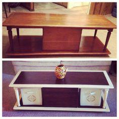 My redone coffee table  #coffeetable  #diy #furniture