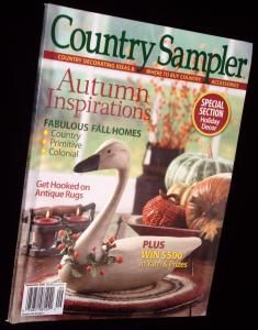 Country Sampler Decorating Ideas Back Issues Magazine September 2005 by babsiesplace