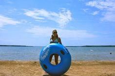 Grab an inner tube and float on the water at #Lake Murray State Park! It's an #Oklahoma #summer hot spot.