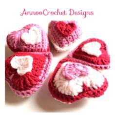Lavender Heart Sachet Free Tutorial By AnnooCrochet Designs