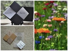 bride guid, seed packets, favor, green bride
