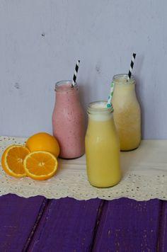 Homemade Orange Julius.