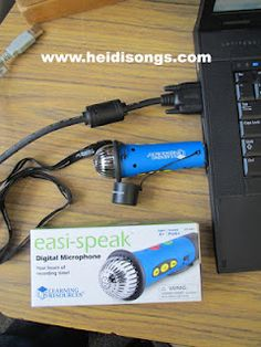 "Have the children record their voices while reading with this ""Easi-Speak"" microphone, or any other recording device.  Then let them play it back and listen.  They usually want to try it again to make it BETTER!  :)"
