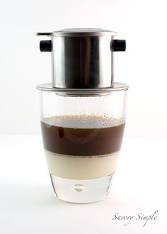 Vietnamese Iced Coffee is rich, sweet and addicting!