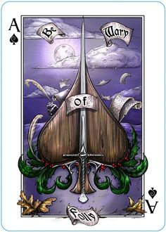 The Name of the Wind card deck from Albino Dragon. (Kingkiller Chronicle Fan? VISIT eoliantavern.com)