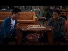 "Troy and Abed discuss the rules of a porn-star name generator. ""Are you SURE it's the name of my grade school and my favorite soft drink?"""