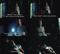 Hahaha I love this part in Prisoner of Azkaban!