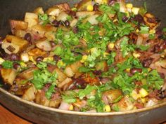 Metabolism Boosting Veggie Skillet only 377 Calories or 9 WW Points FOR THE ENTIRE SKILLET!