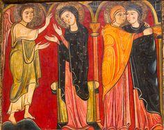 Virgen Maria Visita a su prima Santa Isabel Icono