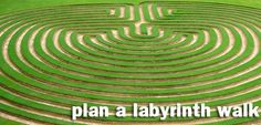 today's resolution: plan a labyrinth walk