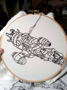 Firefly Serenity embroidery by sarah_hennessey | Flickr - Photo Sharing!