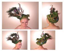 Earth Hair Sculpture
